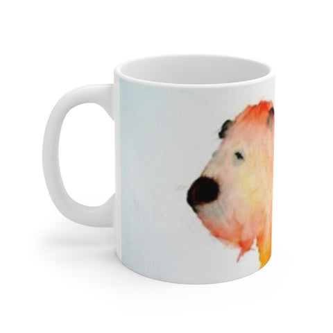 """Watercolor Lion"" Mug"
