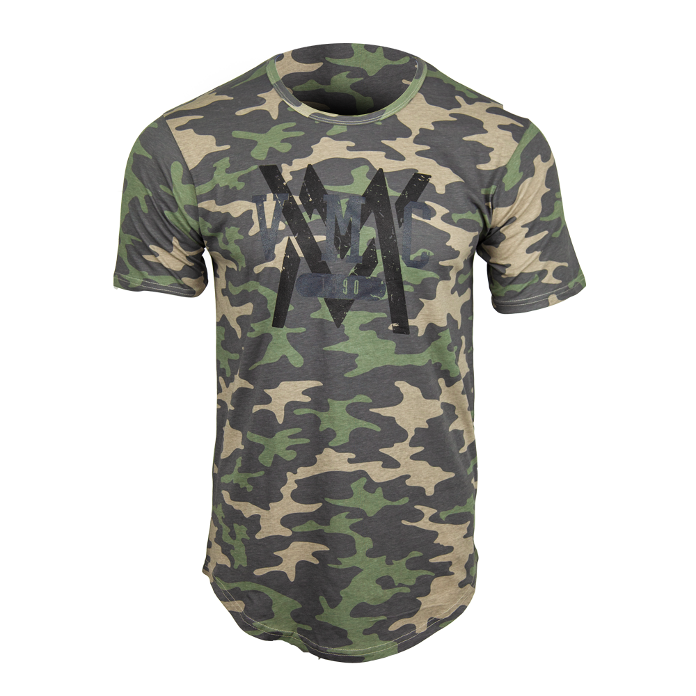Established 1990 Long Shirt [Khaki Camo]