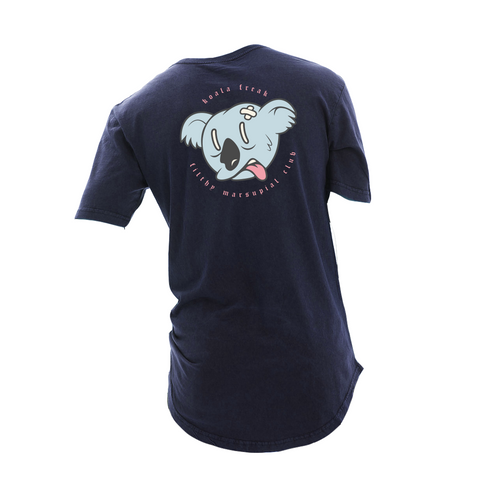 Koala Freak Filthy Marsupial Scoop Long Tee [Denim]