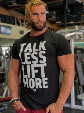 Von Moger Talk Less Lift More Shirt [Black]