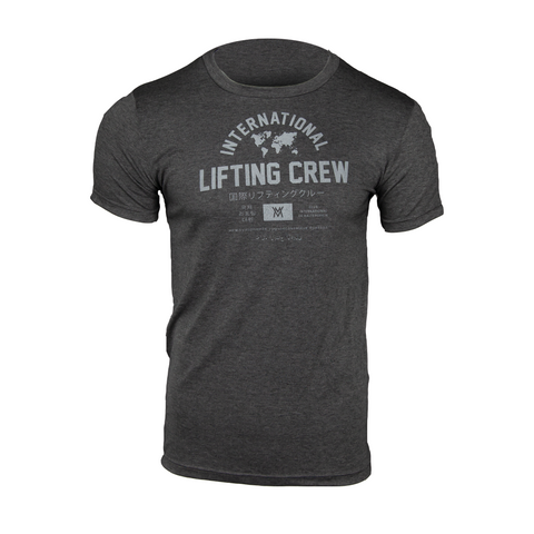 International Lifting Team Triblend Shirt [Dark Grey]