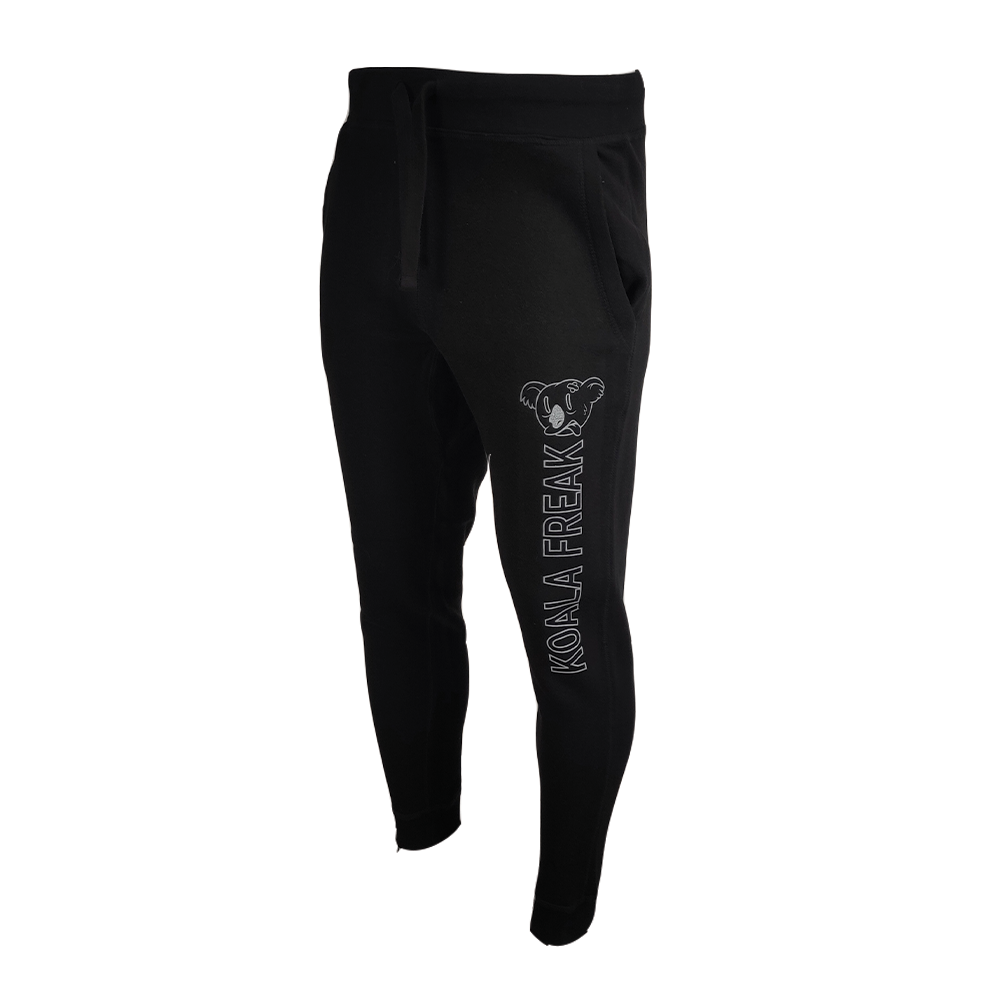 Koala Freak Fleece Joggers [Black]