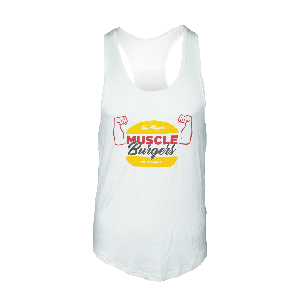 Muscle Burgers Triblend Stringer [White]