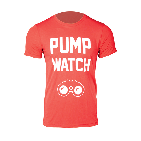 Pump Watch Triblend Shirt [Red]