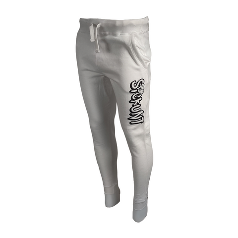 Koala Freak Sickunt Fleece Joggers [White]