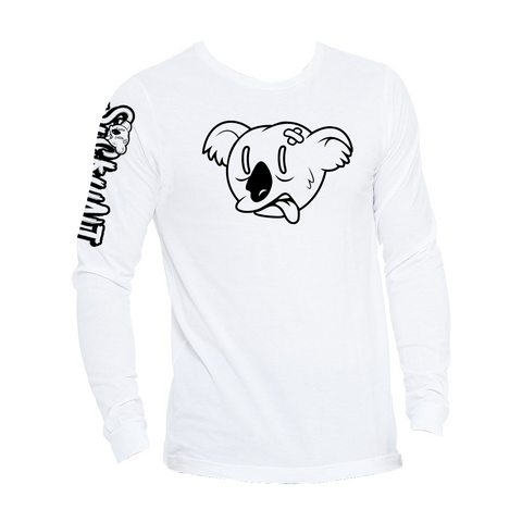 Koala Freak Sickunt Long Sleeve [White]