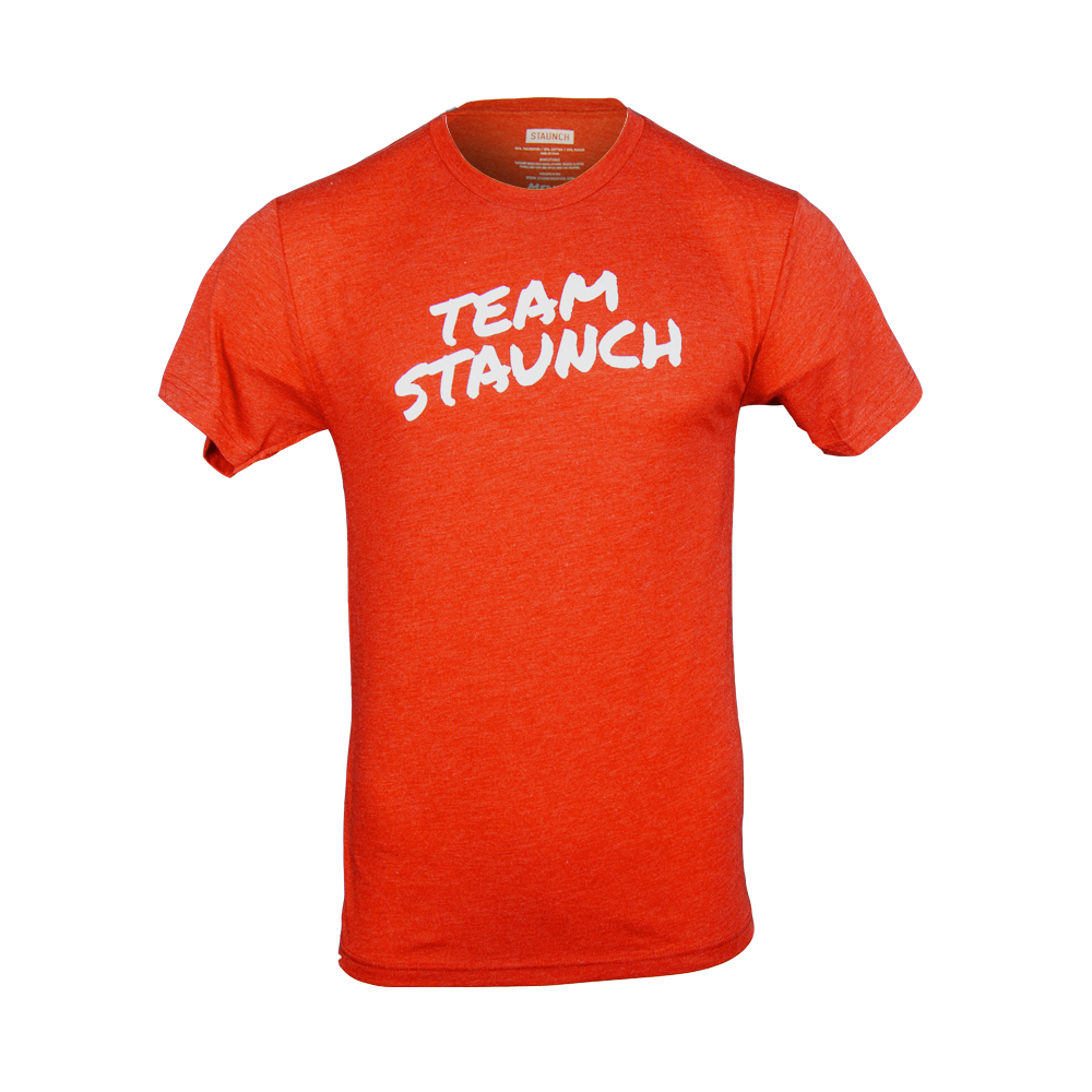 TEAM STAUNCH TRI BLEND [MENS] [VINTAGE RED]
