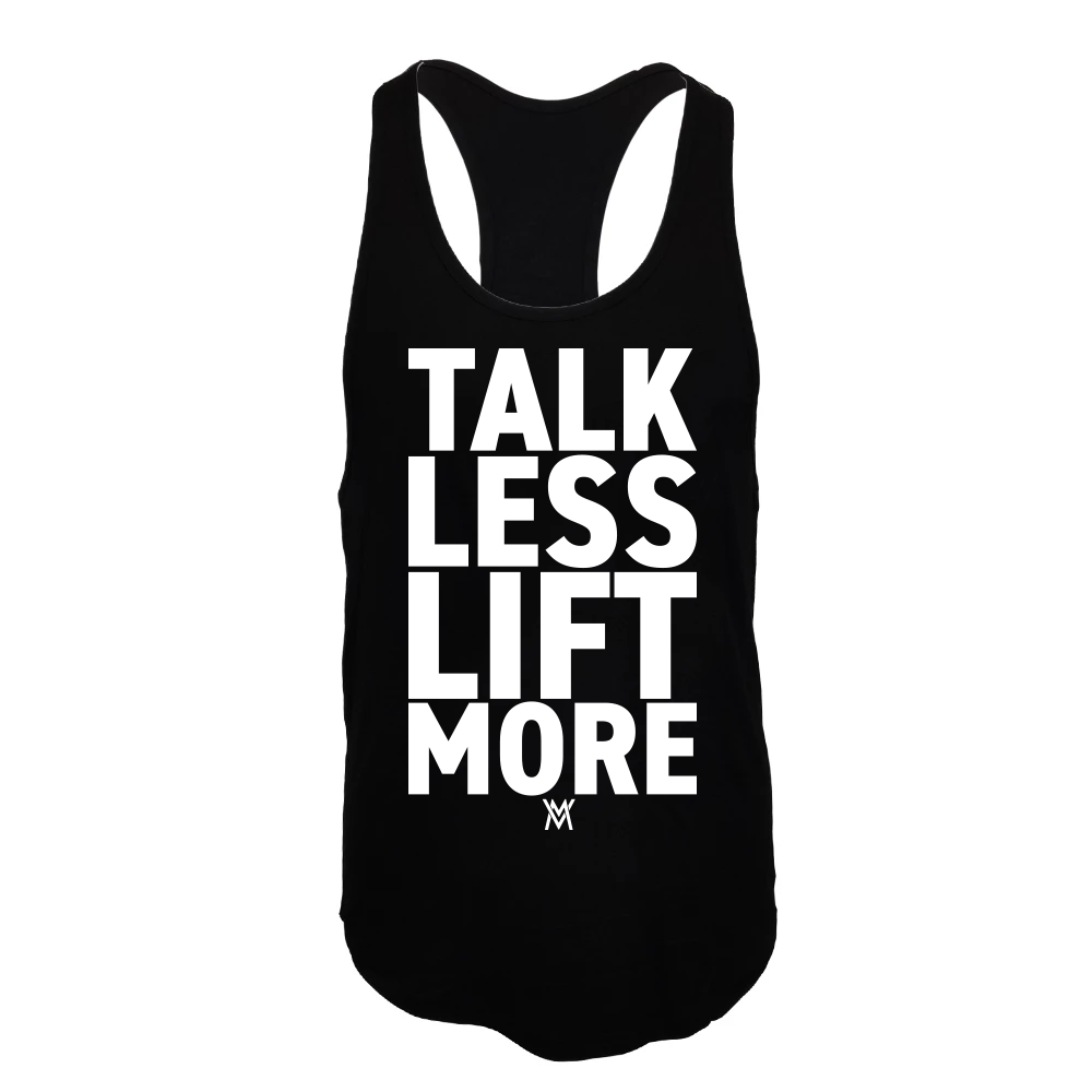 Von Moger Talk Less Lift More Stringer [Black]