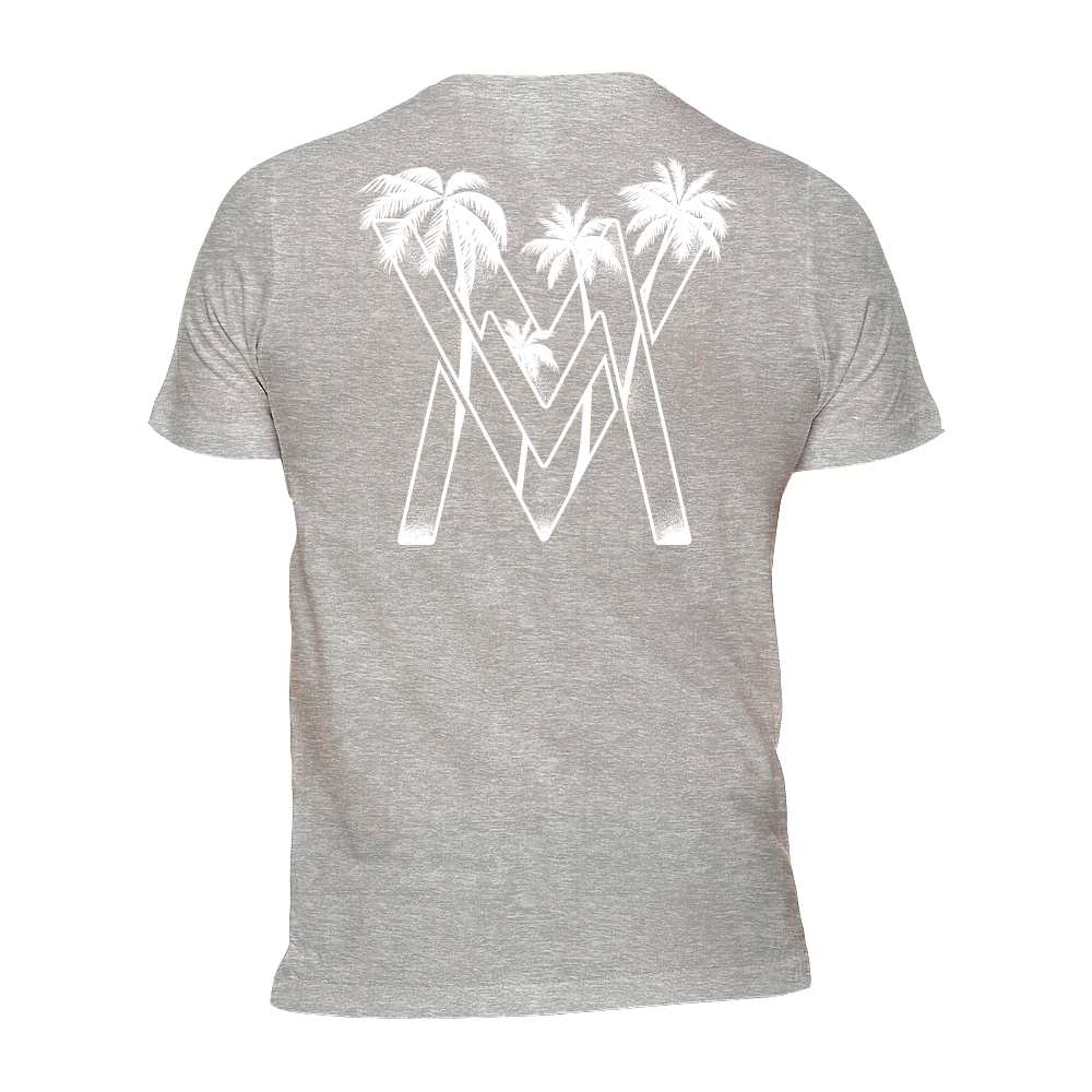 VM Palms Shirt [Heather Grey]