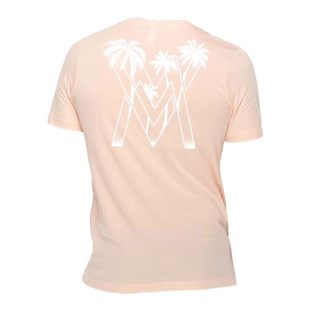 VM Palms Shirt [Pale Pink]