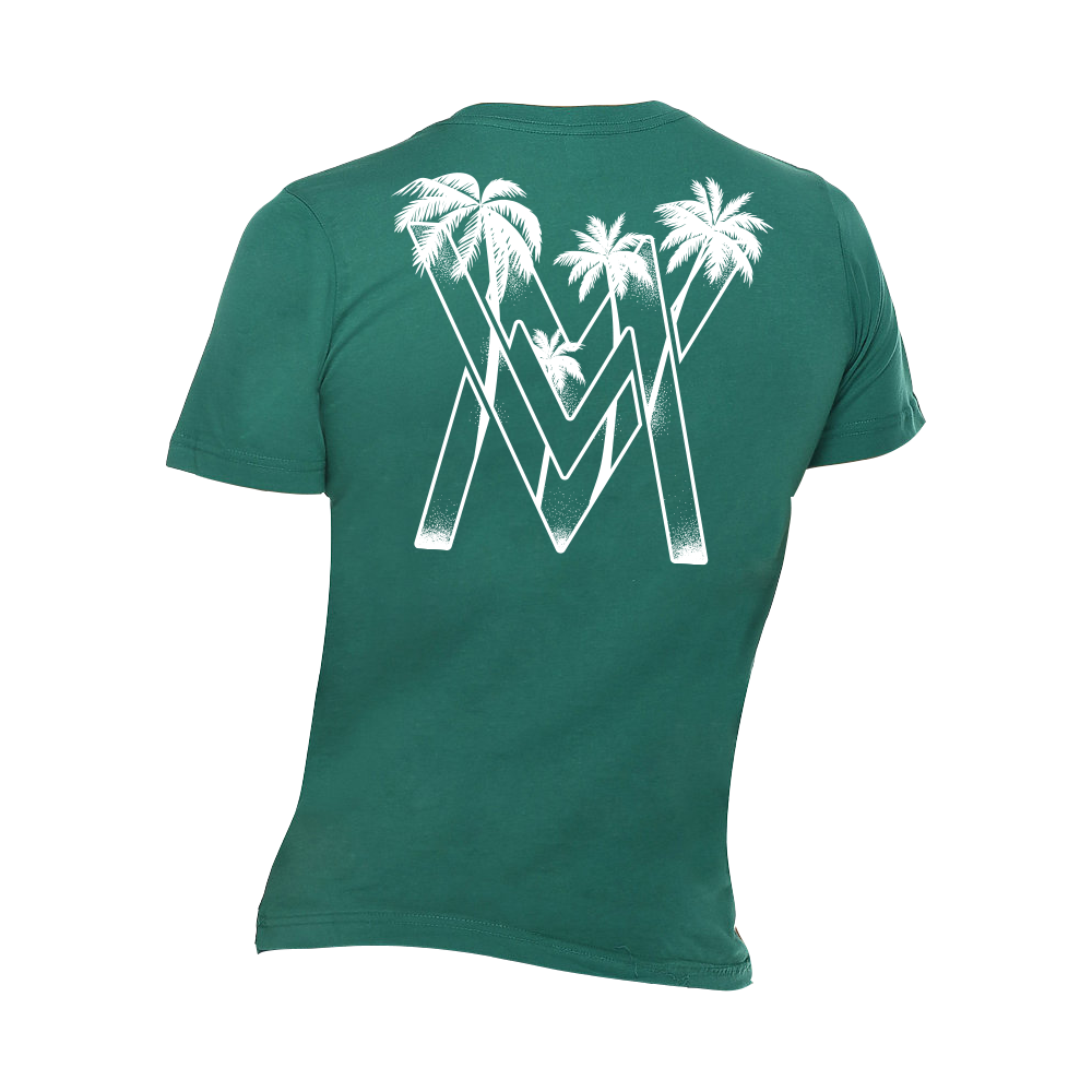 VM Palms Shirt [Teal]