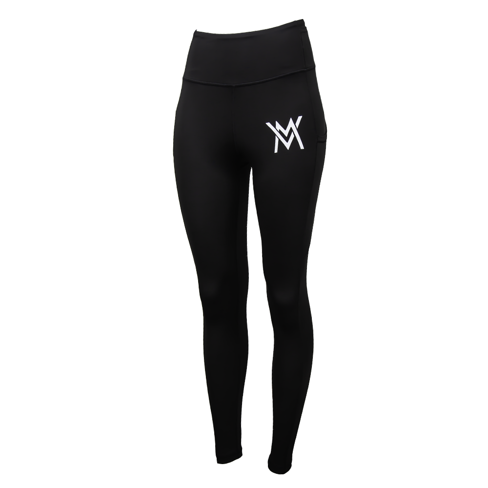 VM High Waisted Leggins [Black]