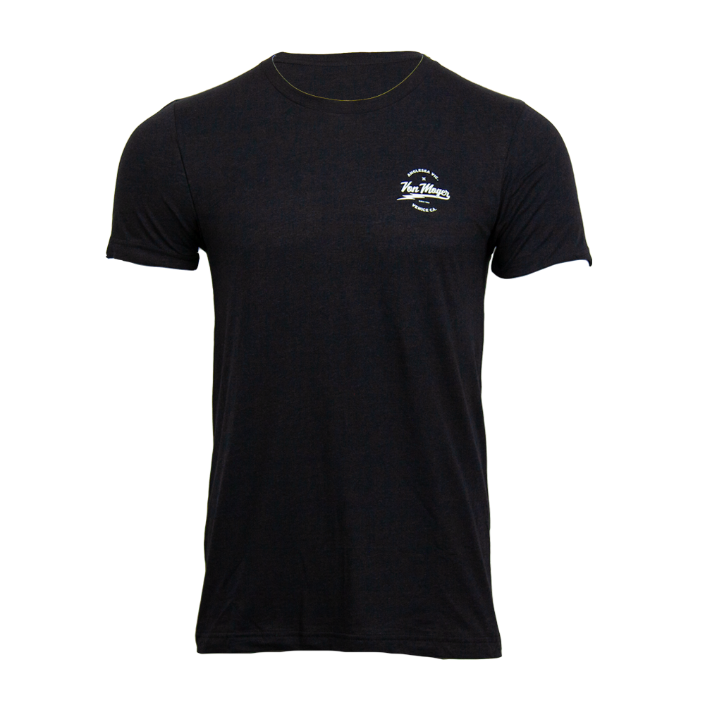 VM Lightning Script Triblend Shirt [Charcoal Black]