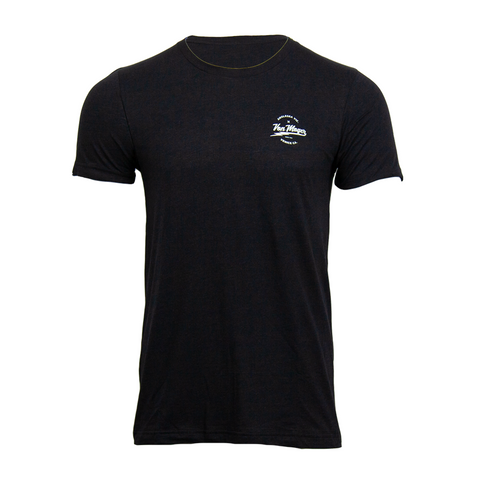 VM Lightning Script Triblend Shirt [Black Heather]