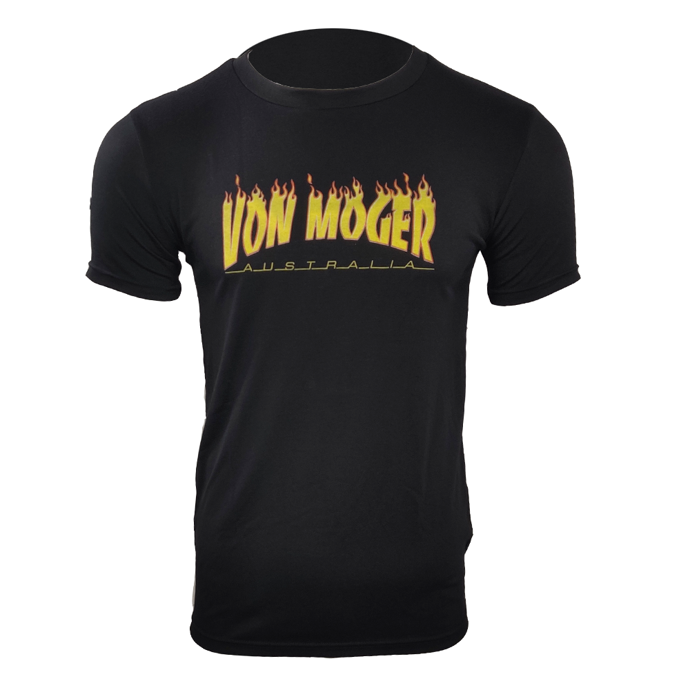 Von Moger Flamer Shirt [Black]