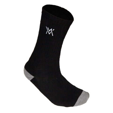 Von Moger Socks [BLACK/GREY]