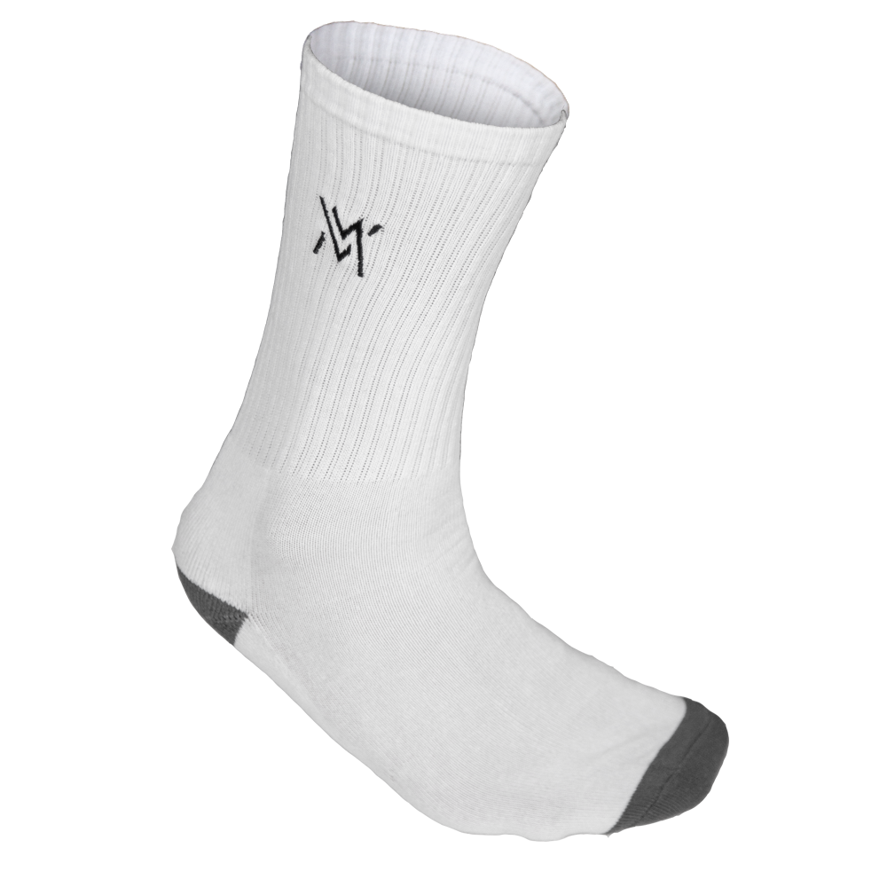 Von Moger Socks [WHITE/GREY]