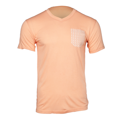 Von Moger V-Neck Pocket [Salmon]