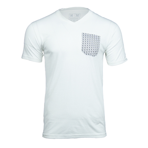 Von Moger V-Neck Pocket [White]