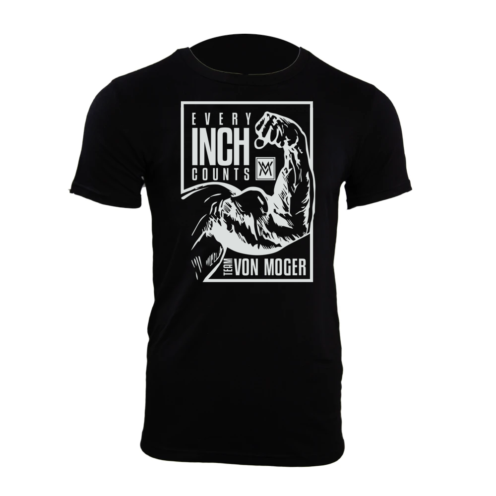 Every Inch Counts Shirt [Black]
