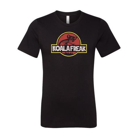 Jurassic Park Raw Neck Shirt