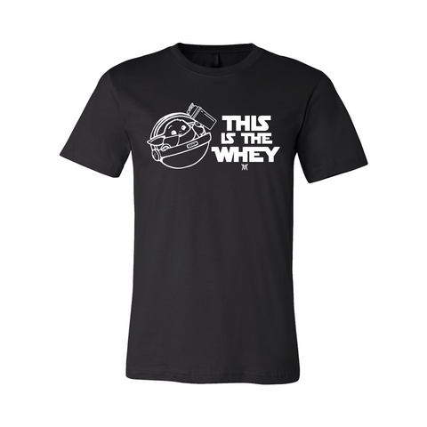 This is the Whey Shirt [Black]