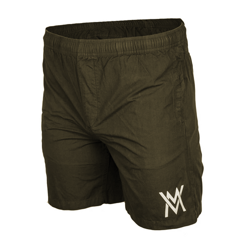 Von Moger Beach Bum Shorts [Olive Green]