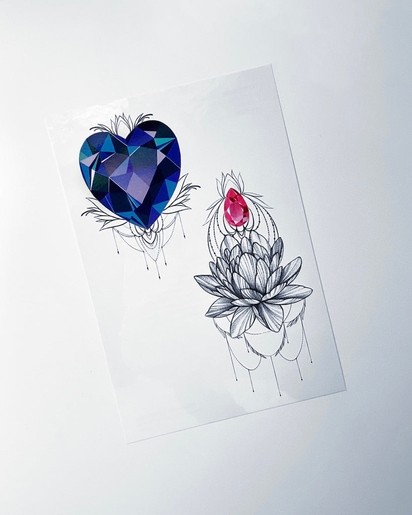 "NEW ""Crystal Heart Set"""