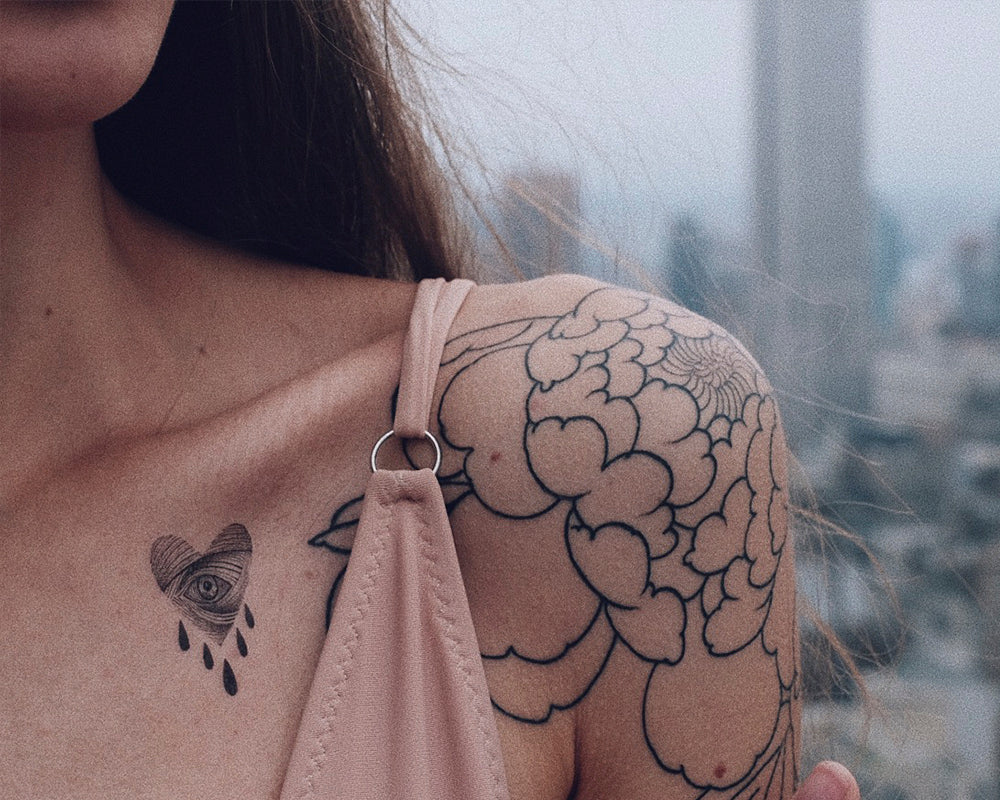 "Tattoo ""Butterfly set"""