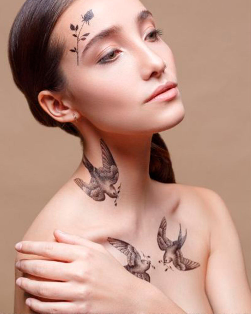 """Animalistic"" Tattoo Set"