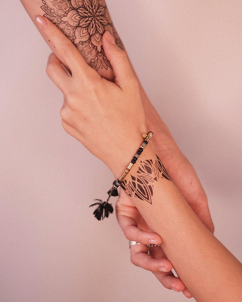 "Tattoo set ""Mandala & Bracelet"""