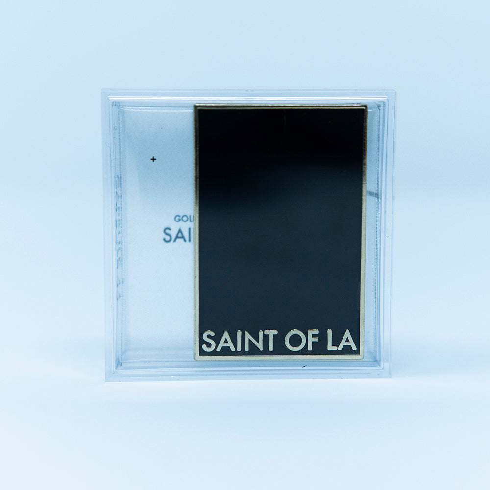 SAINT OF LA  Pin in Gold
