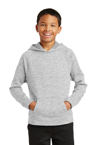 Sport-Tek Youth PosiCharge Electric Heather Fleece Hooded Pullover. YST225 - InHouse Brand Group -Atlanta Custom T-Shirt Screen-Printing, Embroidery, Graphic Design, ATL Photography