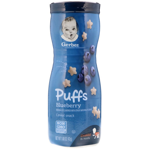 Gerber Puff Blueberry