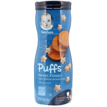 Load image into Gallery viewer, Gerber Puff Sweet Potato