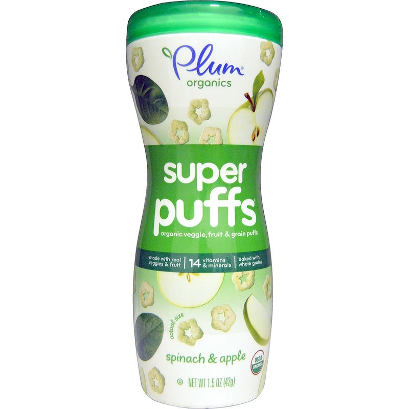 Plum Organic Super Puff Spinach & Apple