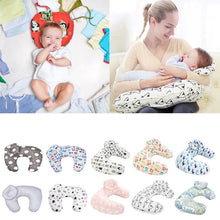Load image into Gallery viewer, Nursing Pillow with Baby Pillow