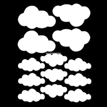 Load image into Gallery viewer, Clouds Wall Decal