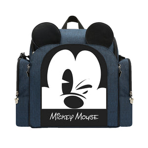 Disney Multifunctional Diaper Bag & Portable Booster Seat