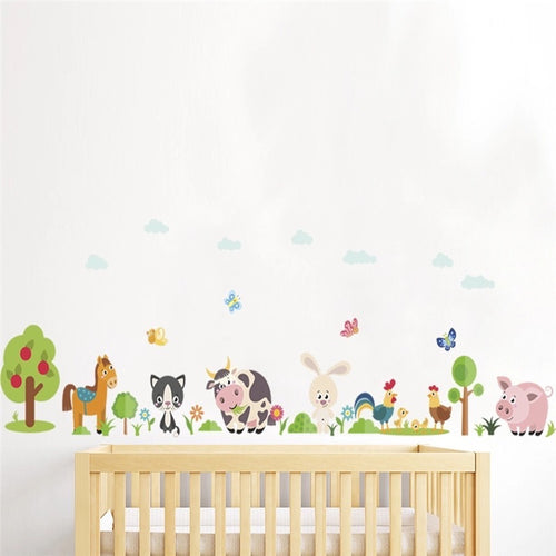 Farm Animal Wall Decal