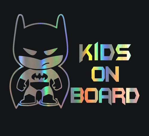 Kids on Board Car Sticker