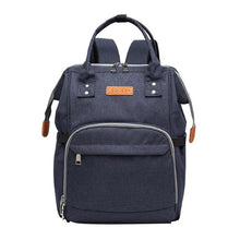 Load image into Gallery viewer, LeQueen Diaper Bag Travel Edition Denim