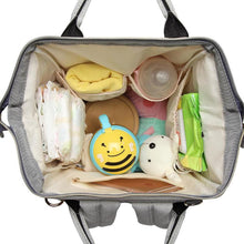 Load image into Gallery viewer, LeQueen Diaper Bag Stripes