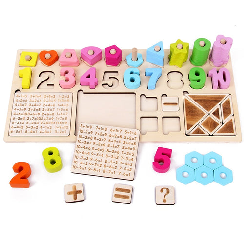 Wooden Montessori Counting Board