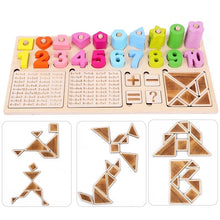 Load image into Gallery viewer, Wooden Montessori Counting Board