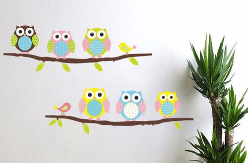 Wise Owl Wall Decal