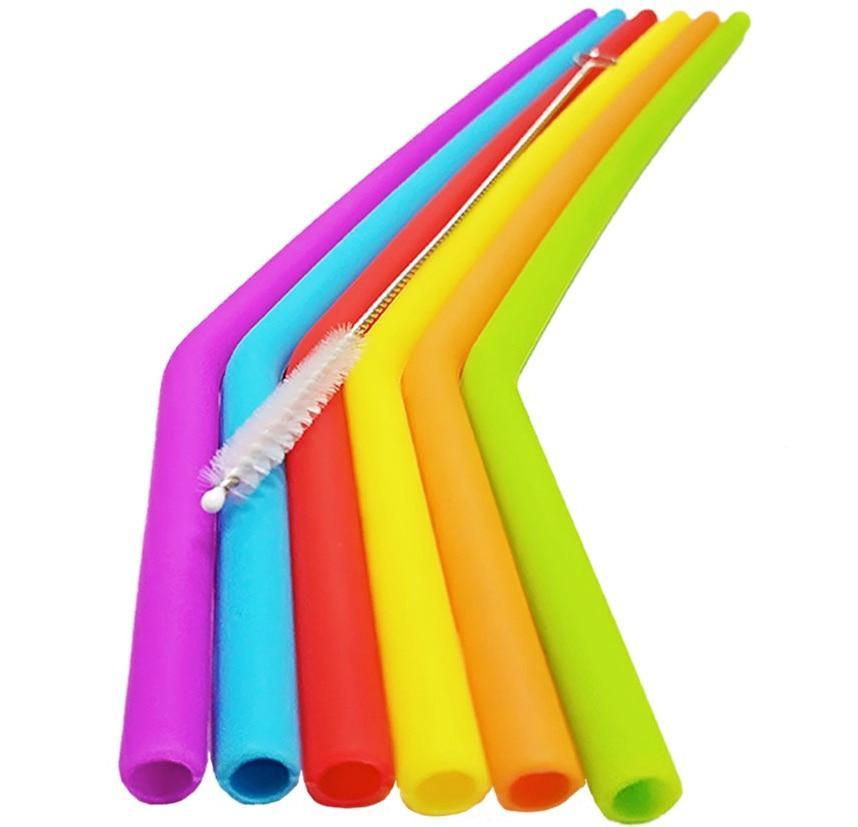 Reusable Silicone Straw Small