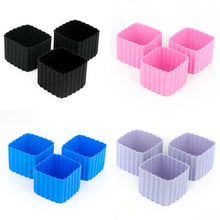 Load image into Gallery viewer, Bento Cups - Silicone Square 3pk