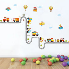 Load image into Gallery viewer, Transportation Wall Decal