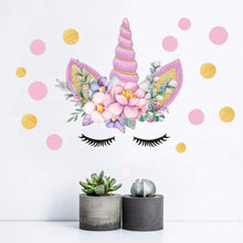 Load image into Gallery viewer, Unicorn Wall Decal